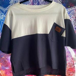 Oversized Short Sleeved Shirt